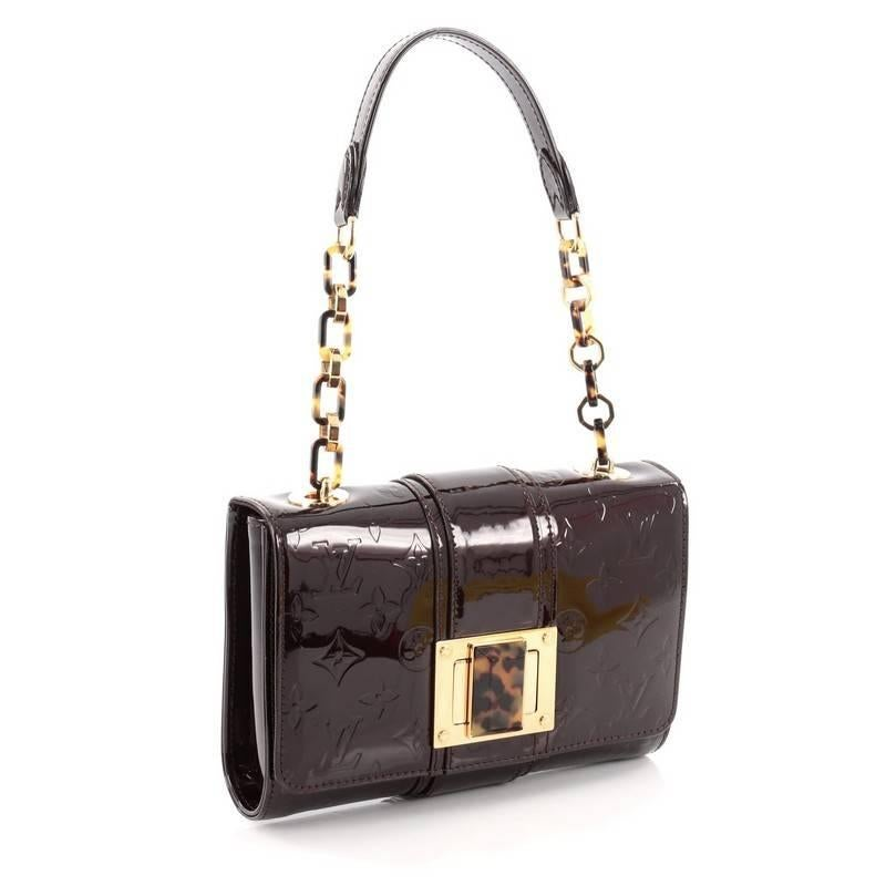 Louis Vuitton Vermont Avenue Monogram Vernis Handbag FZalH