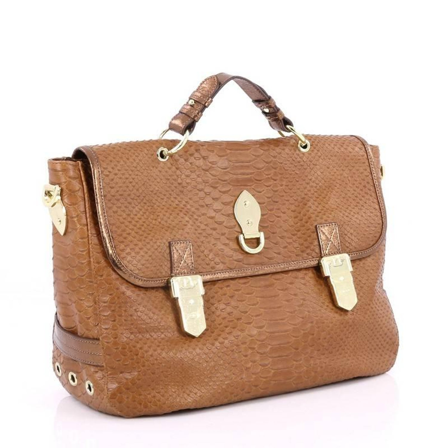 Mulberry Tillie Satchel Python Embossed Leather Medium at 1stdibs 72ef410dcb0cb