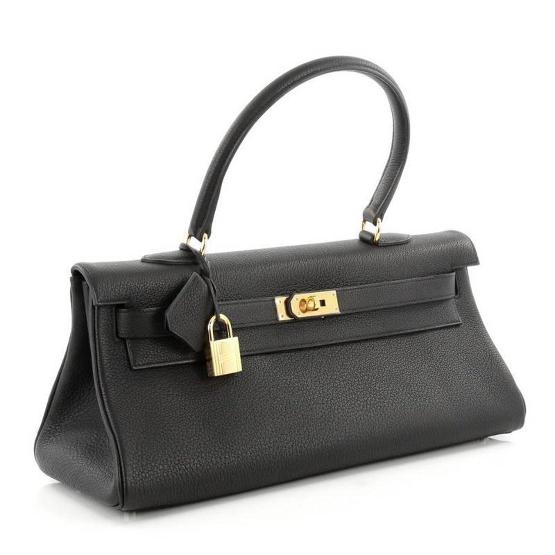 88ab0a87817c Hermes Shoulder Kelly Handbag Clemence 42 at 1stdibs