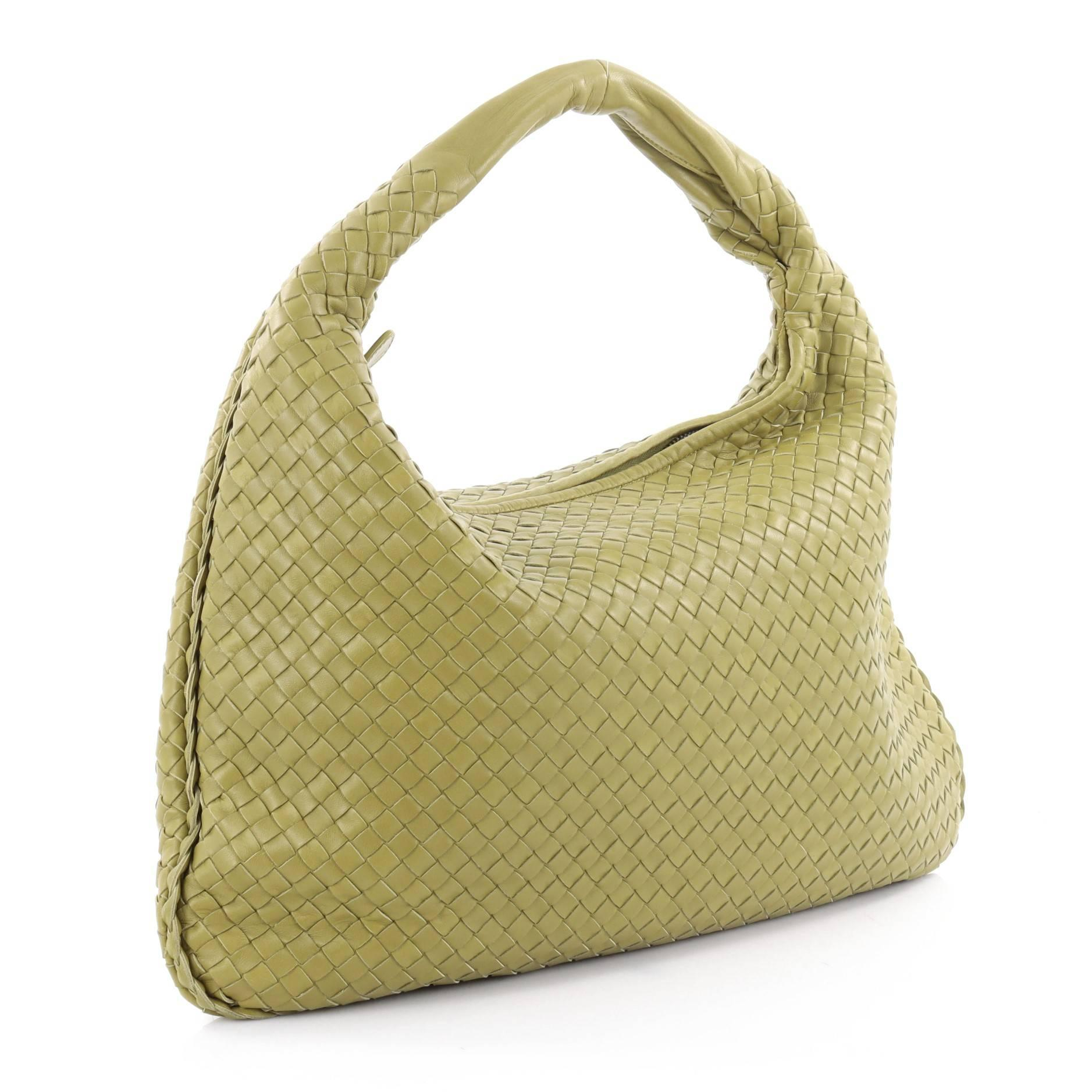14c751a63d Bottega Veneta Veneta Hobo Intrecciato Nappa Large at 1stdibs