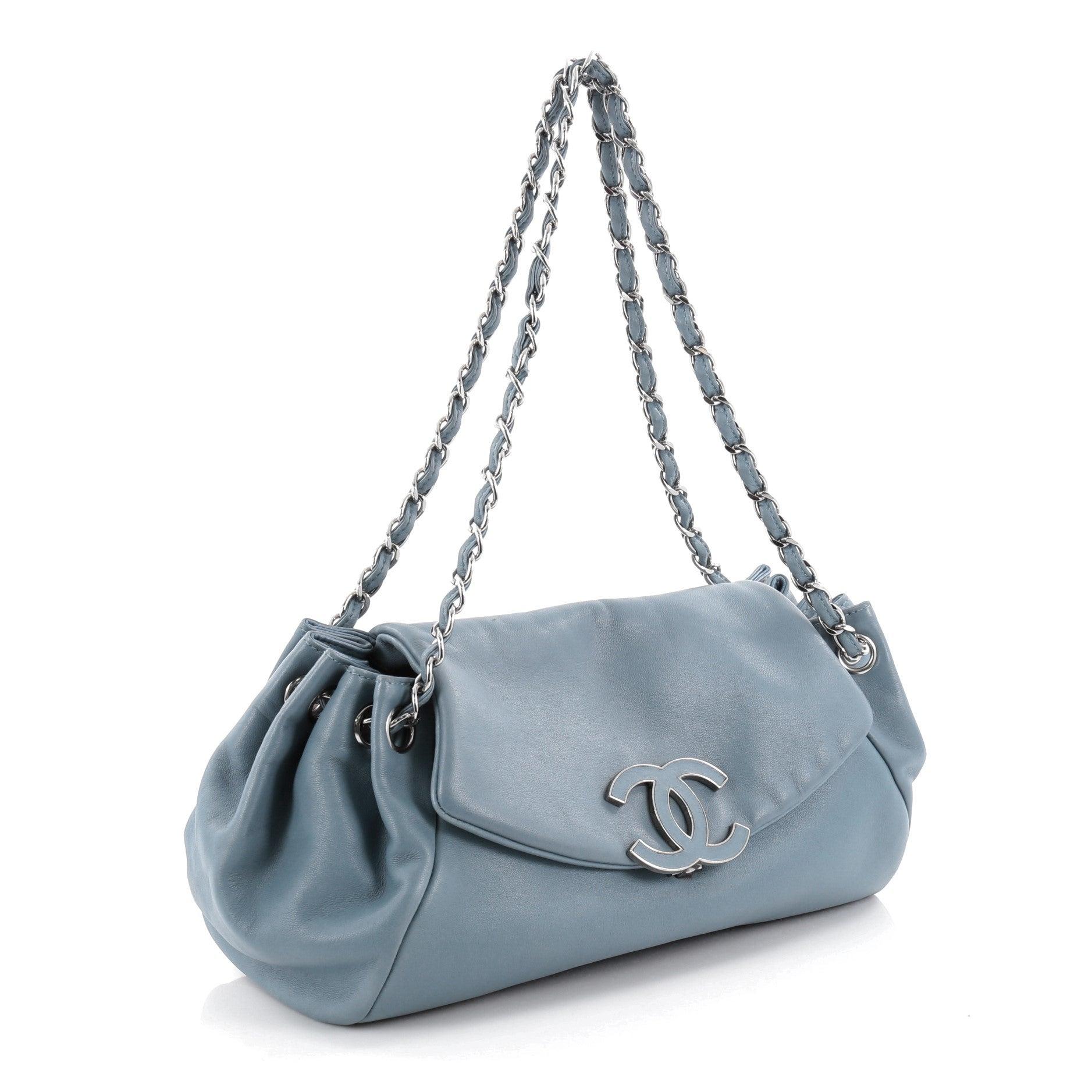 7c1e8251fb26 Chanel Sensual CC Accordion Flap Bag Lambskin Large at 1stdibs