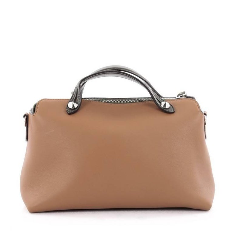 Fendi By The Way Satchel Calfskin Small At 1stdibs