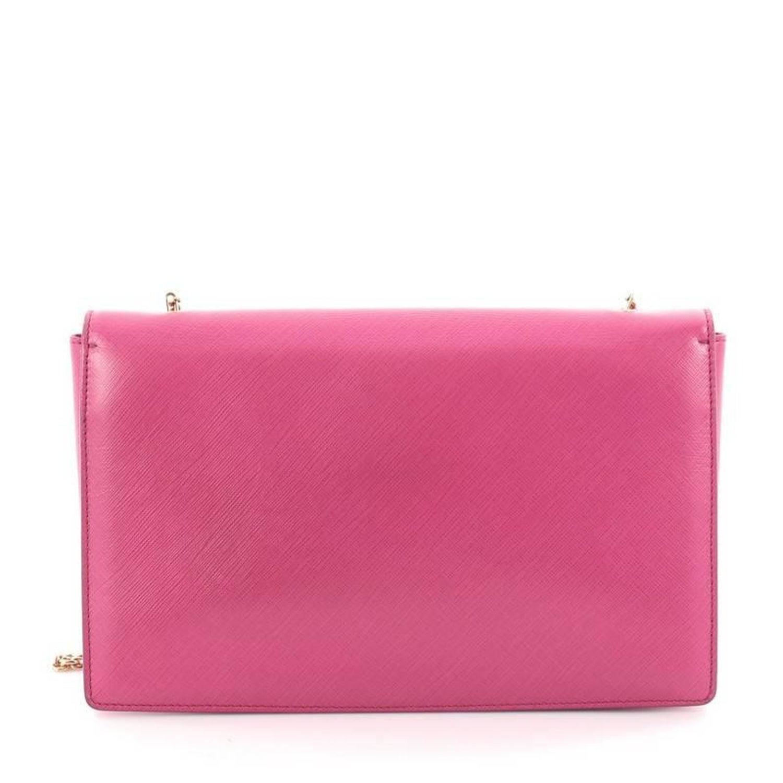 b1c739e0cb3a Salvatore Ferragamo Ginny Crossbody Bag Saffiano Leather Medium at 1stdibs