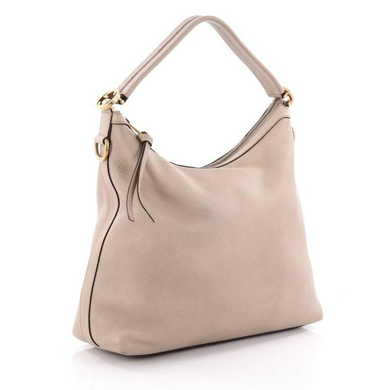 4fe6139b60092a Gucci Miss GG Hobo Leather Small at 1stdibs