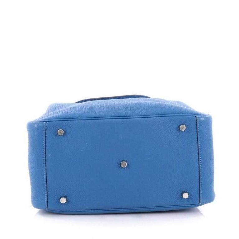Women's Hermes Lindy Handbag Clemence 30 For Sale