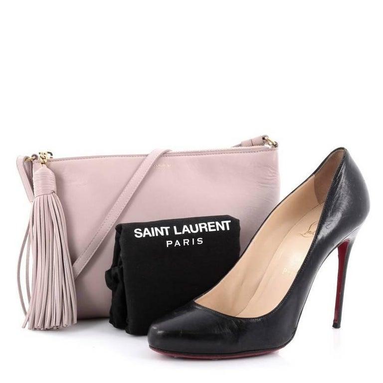 Saint Laurent Teen Crossbody Bag Leather At 1stdibs
