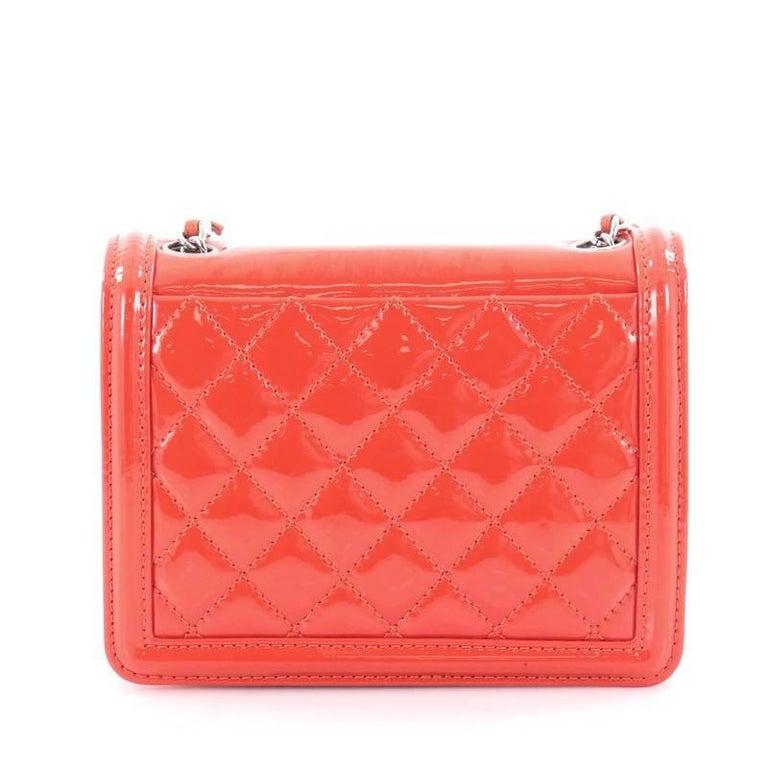 e803706f3358 Chanel Boy Brick Flap Bag Patent and Plexiglass Mini In Good Condition For  Sale In New