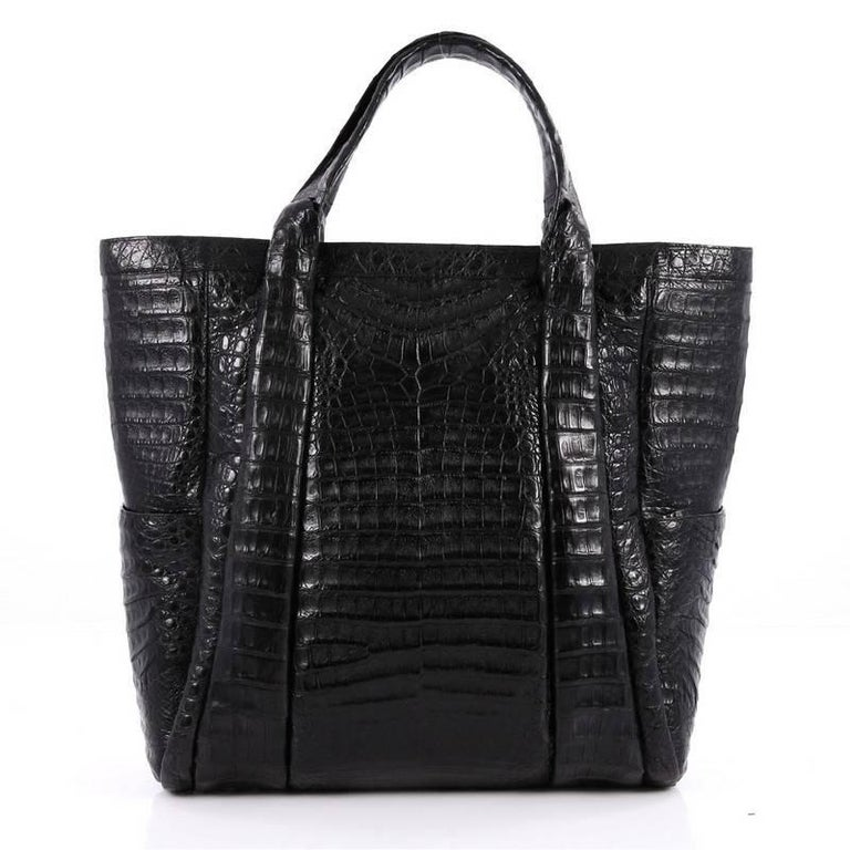 Nancy Gonzalez Tote Crocodile Large 4
