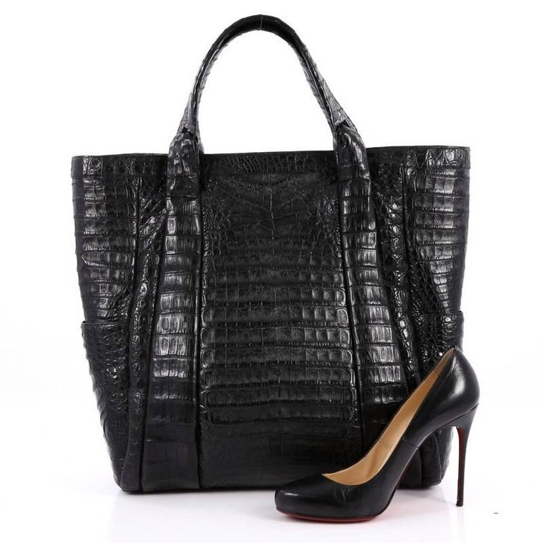 Nancy Gonzalez Tote Crocodile Large 2