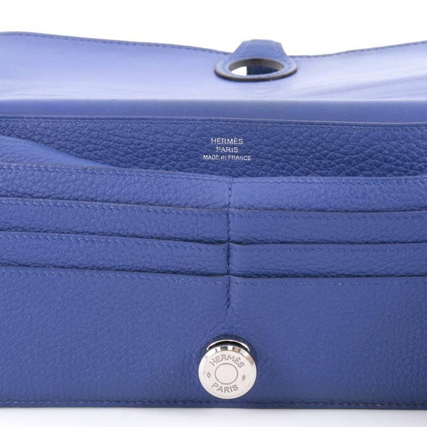 Hermes Dogon Recto Verso Wallet Leather For Sale at 1stdibs