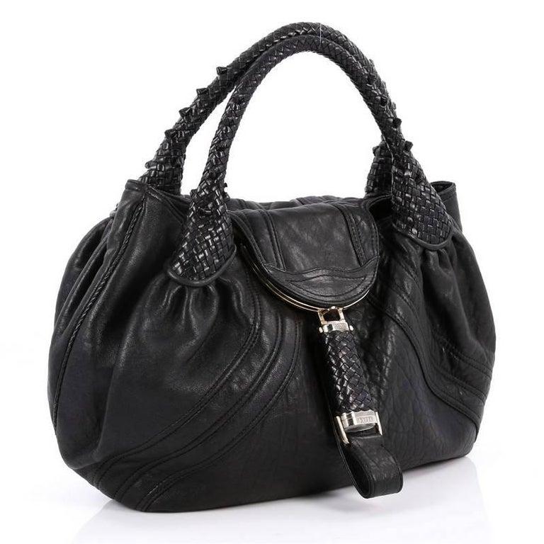 75097bf704b Black Fendi Spy Bag Leather For Sale