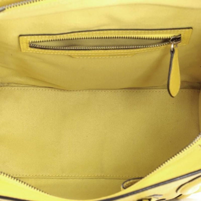 Celine Luggage Handbag Grainy Leather Micro For Sale 1