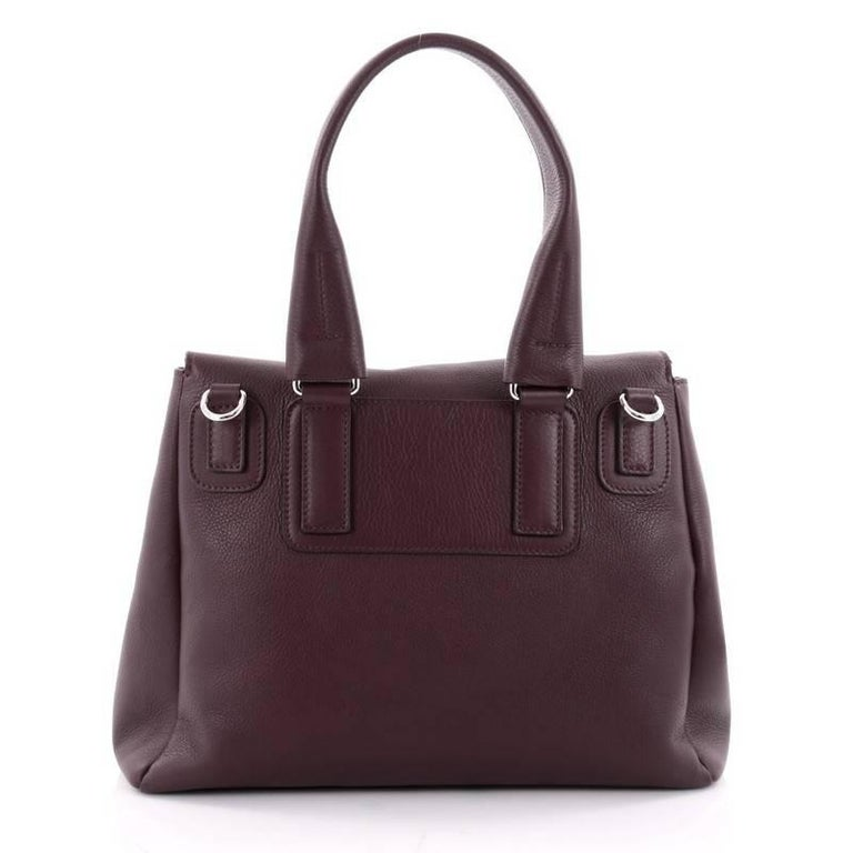 e4a00826f1 Givenchy Pandora Pure Satchel Leather Small In Good Condition For Sale In  New York, NY
