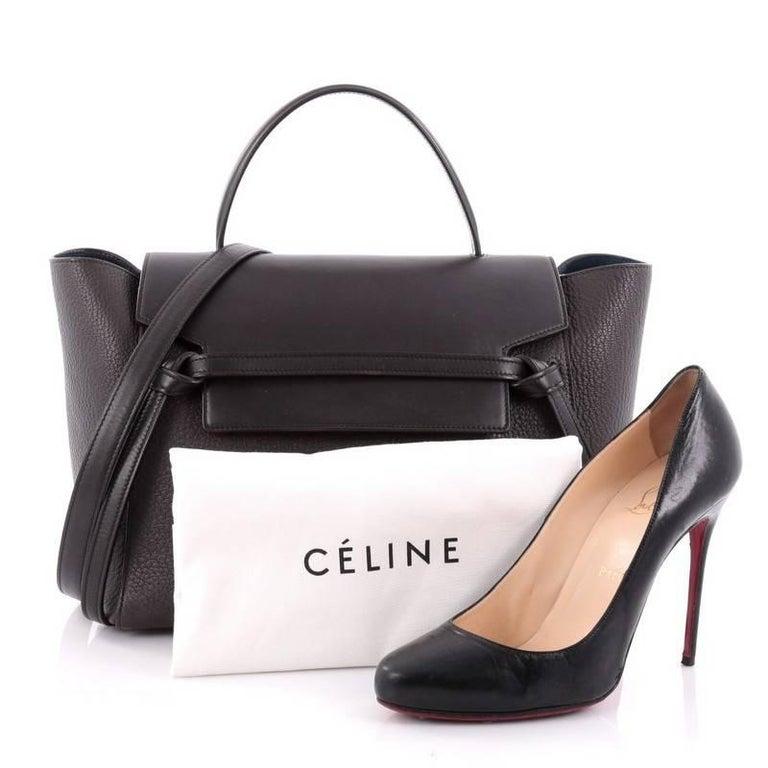 Celine Belt Bag Pebbled Leather Mini at 1stdibs 5ed4dbbedfd8c
