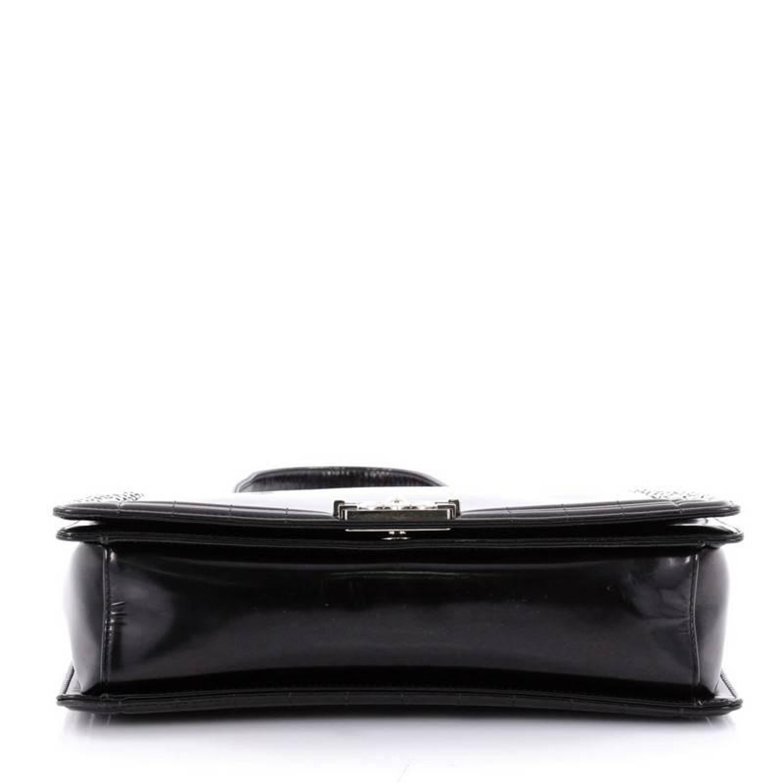 14413c46768e70 Chanel Reverso Boy Flap Bag Glazed Calfskin Large at 1stdibs