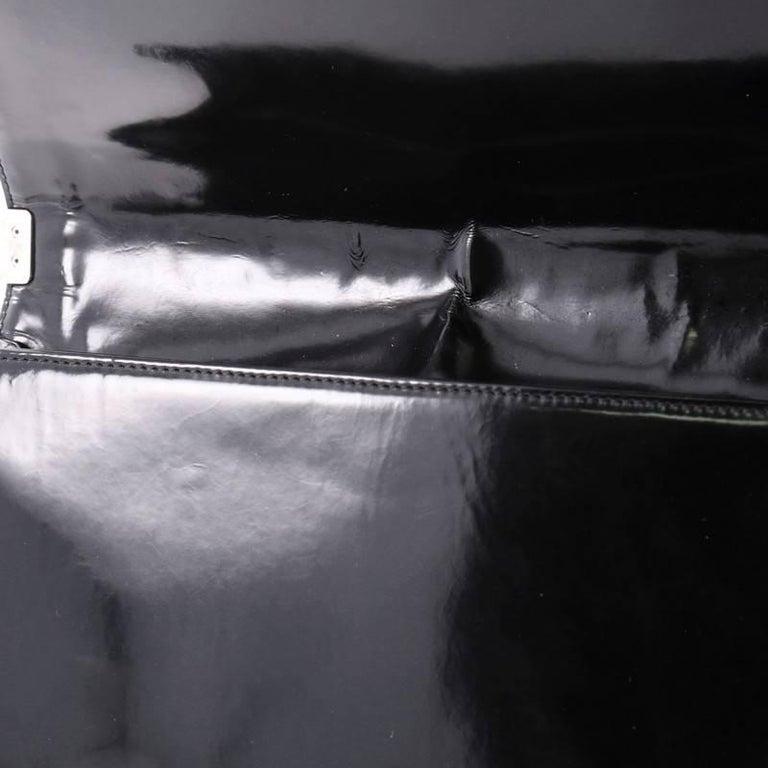 ab476de08865de Chanel Reverso Boy Flap Bag Glazed Calfskin Large For Sale 3