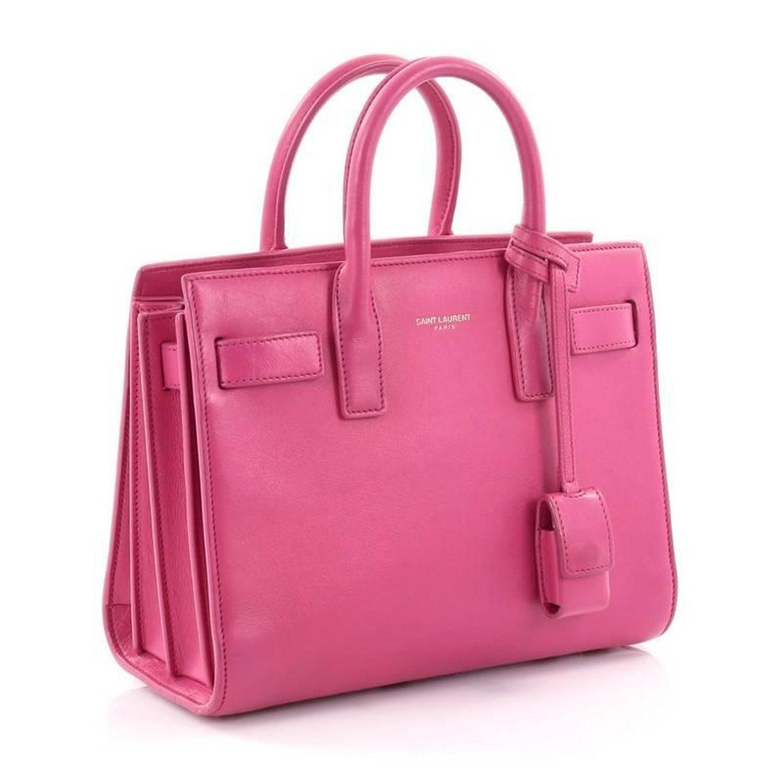 07a1157199 Saint Laurent Sac De Jour Handbag Leather Nano at 1stdibs