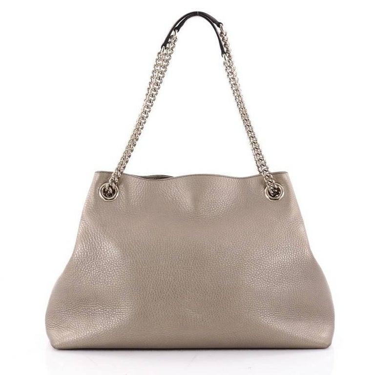 46057cb49dc Sylvie Leather Mini Chain Bag Gucci Women S Shoulder Bags