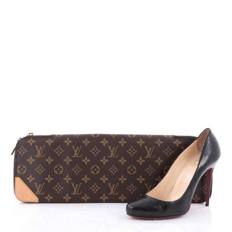 premium selection 0cdba 64a8a Louis Vuitton 5 Tie Case Monogram Canvas