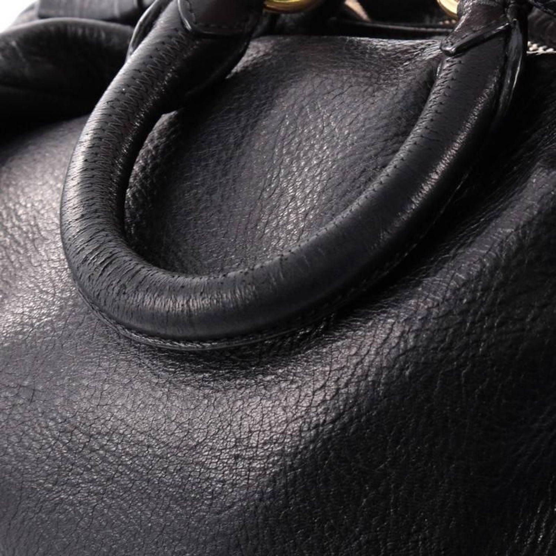 a1906344d658 Prada Zip Top Hobo Cervo Leather Large at 1stdibs