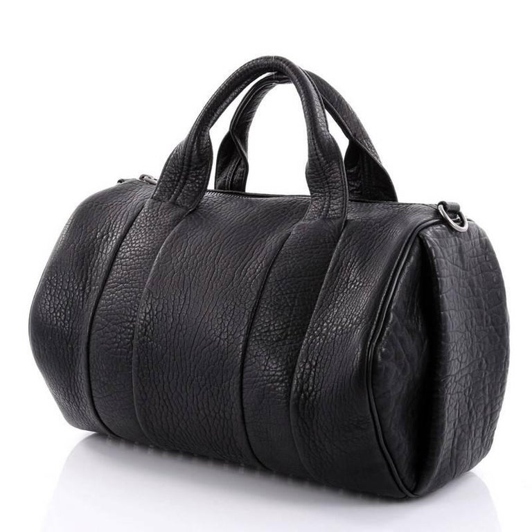 Alexander Wang Rocco Satchel Leather In Good Condition In New York, NY