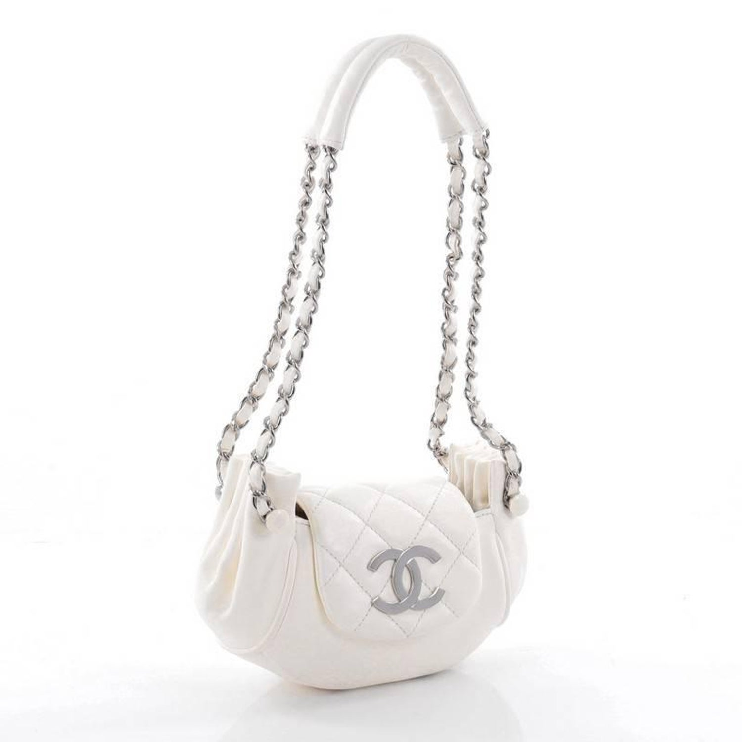 95e13fdea03058 Chanel Accordion Flap Bag Quilted Lambskin Mini at 1stdibs