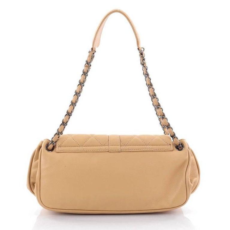 Chanel Vintage Mademoiselle Lock Accordion Flap Bag ...