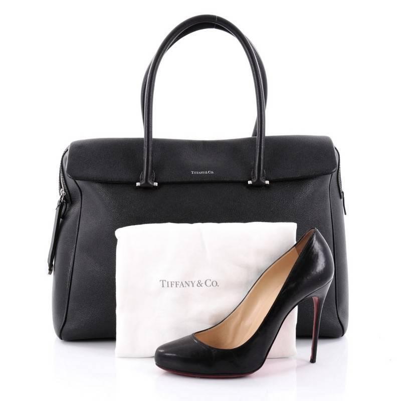 1stdibs Tiffany & Co. Peyton Satchel Leather Large EjCtk