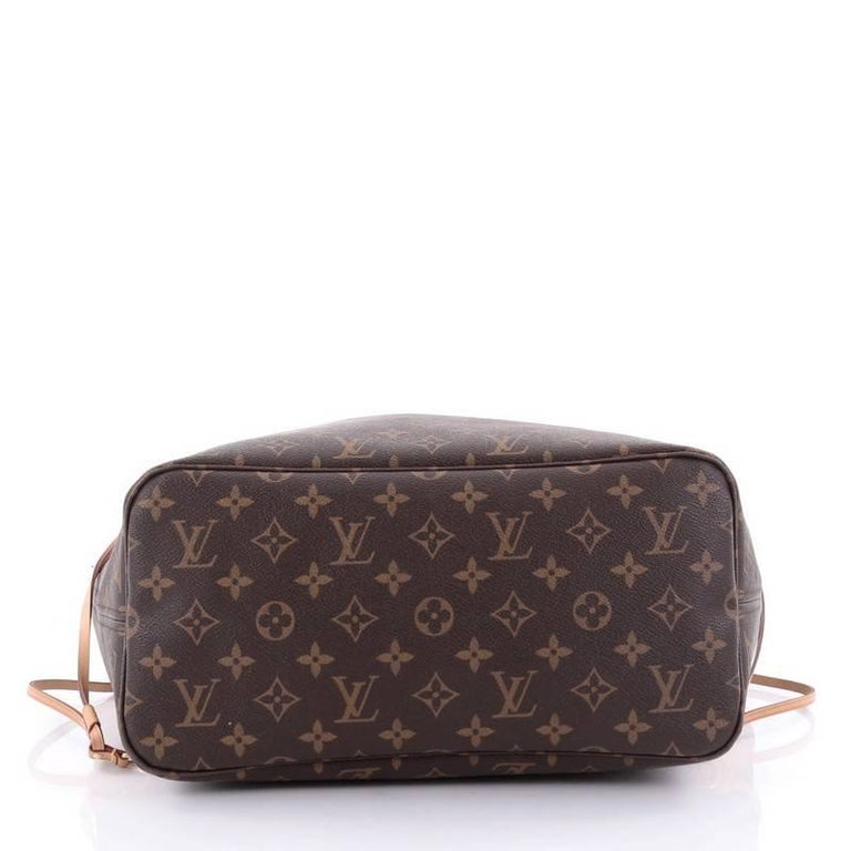 Sac Louis Vuitton Neverfull Mm : Louis vuitton neverfull nm tote monogram canvas mm at stdibs