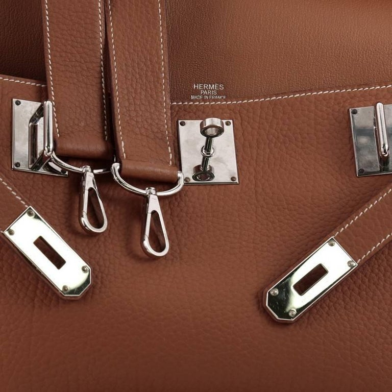 Hermes Jypsiere Handbag Fjord 37 For Sale 1