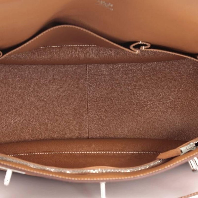 Hermes Jypsiere Handbag Fjord 37 For Sale 2