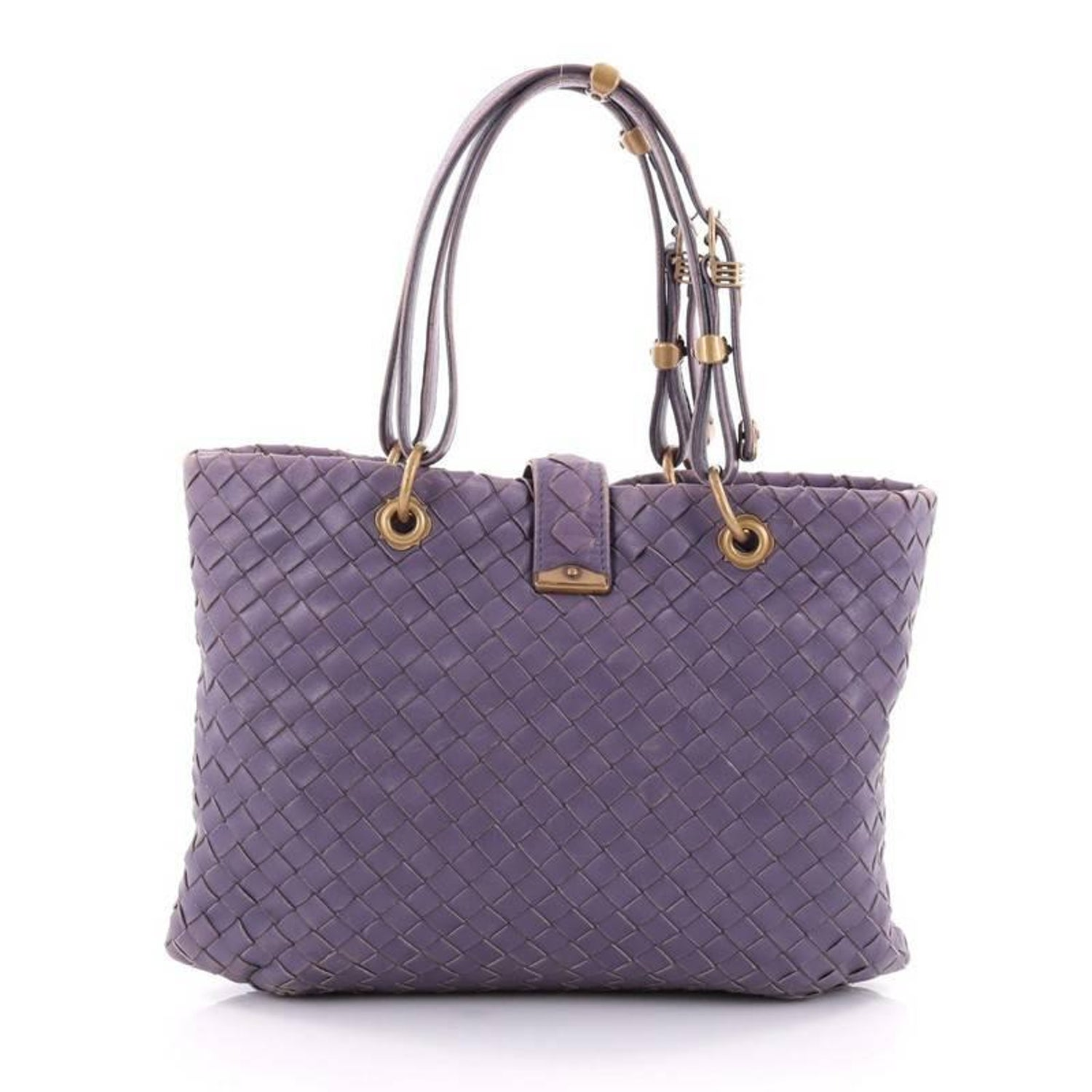 cc28057e64 Bottega Veneta Capri Tote Intrecciato Nappa Small at 1stdibs