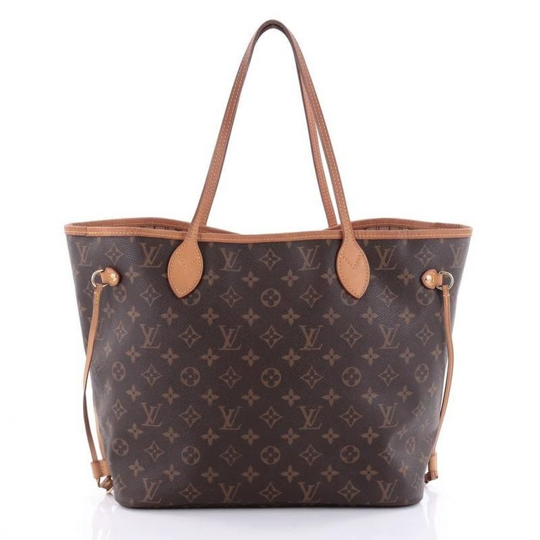 Sac Louis Vuitton Neverfull Mm : Louis vuitton neverfull tote monogram canvas mm at stdibs