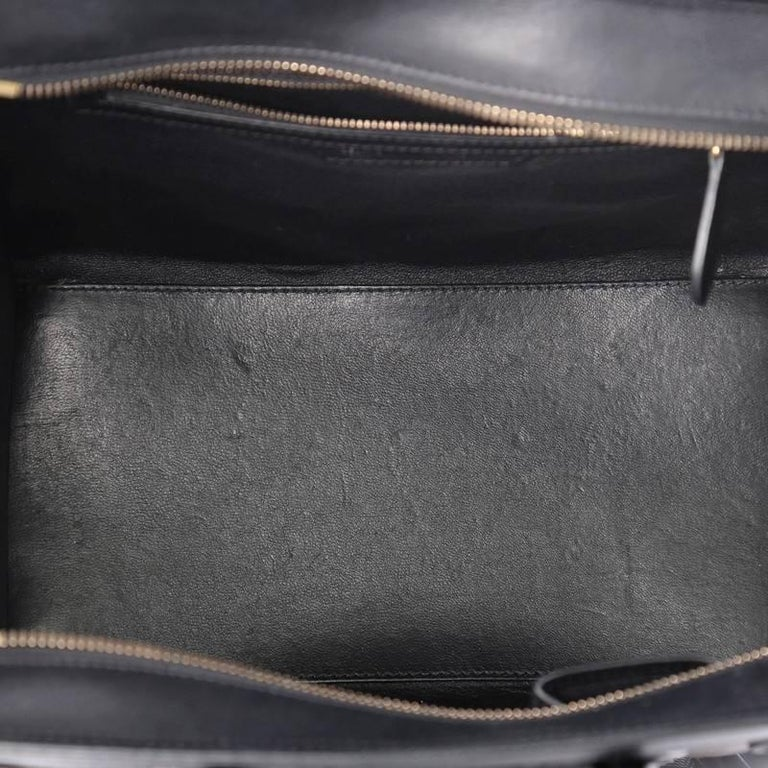 Celine Luggage Handbag Lizard and Leather Mini For Sale 4