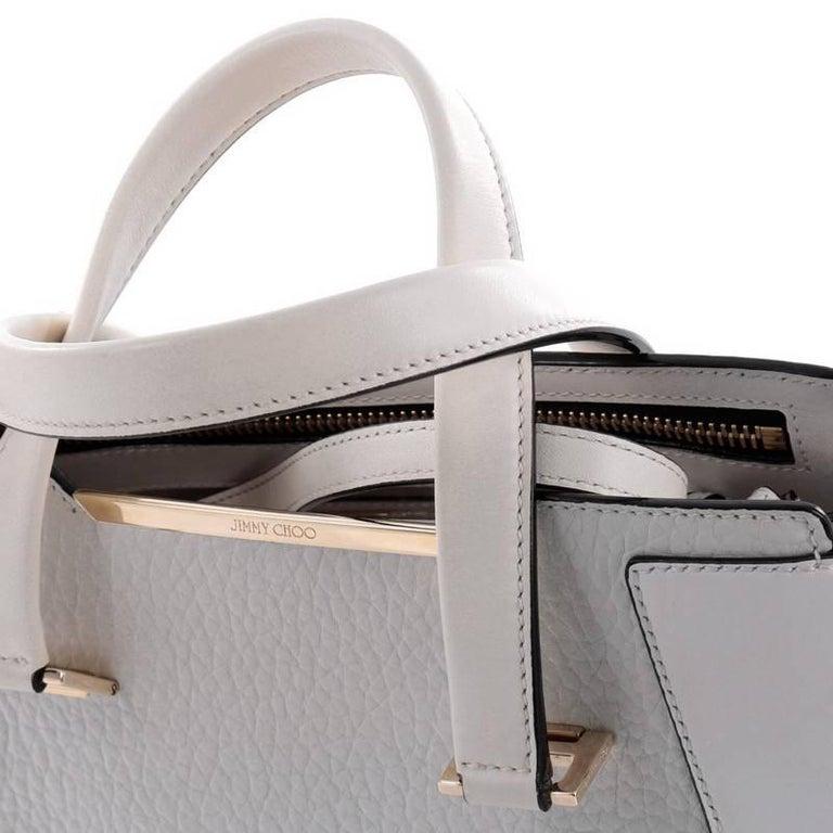Jimmy Choo Alfie Handbag Leather Large For Sale 3