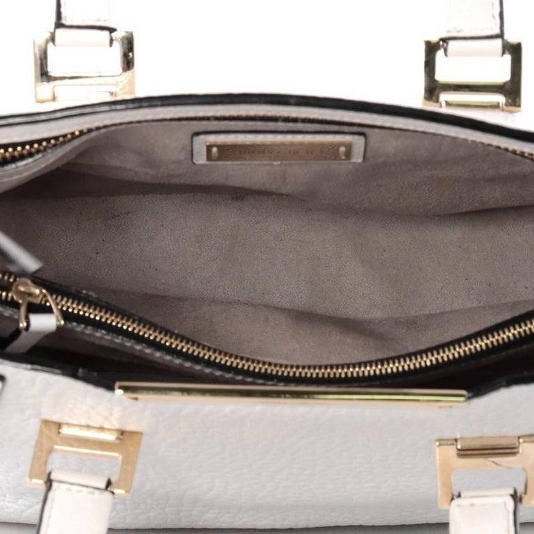 Jimmy Choo Alfie Handbag Leather Large For Sale 4