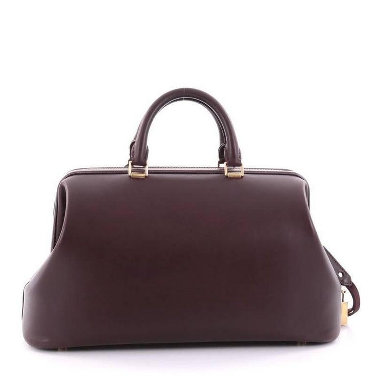 f576e688efa2 Celine Frame Doctor Bag Leather Medium at 1stdibs