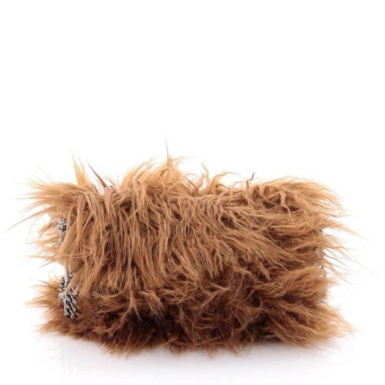 Women s Stella McCartney Falabella Fold Over Crossbody Bag Faux Fur Mini  For Sale 1dbd4a4aadfb4