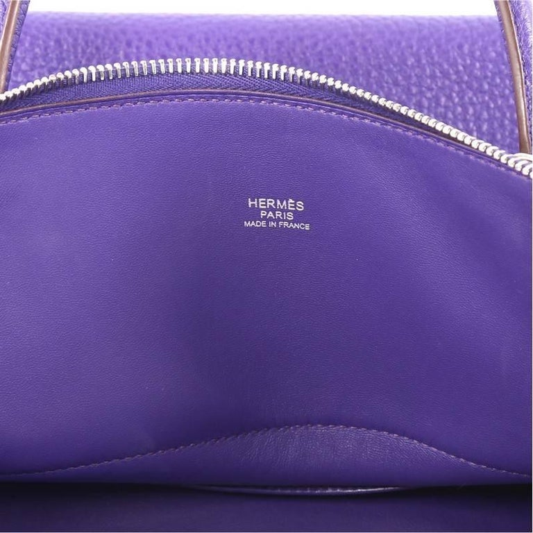 Hermes Bolide Handbag Clemence 35 For Sale 2