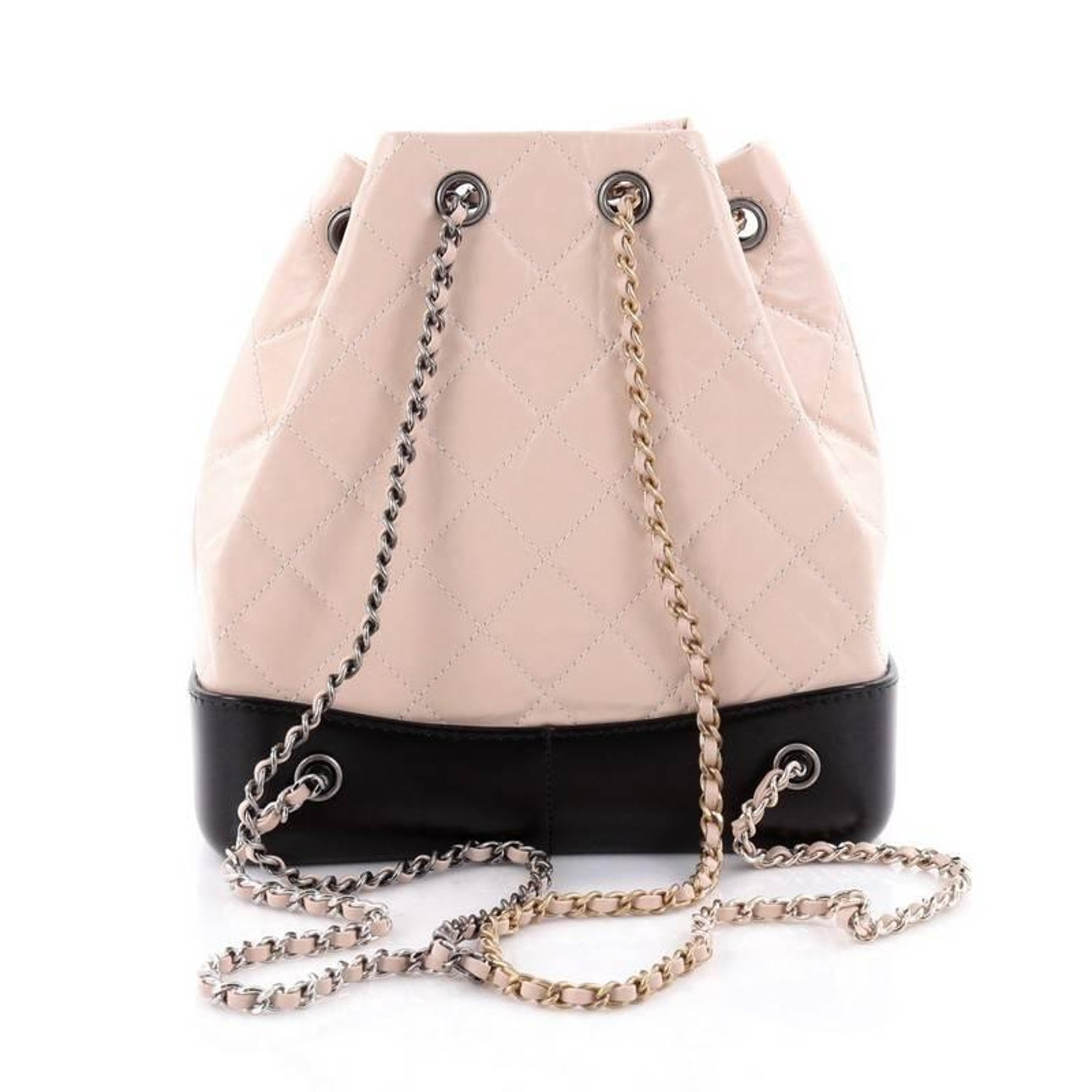7cd536416175 Chanel Gabrielle Backpack Quilted Calfskin Small at 1stdibs