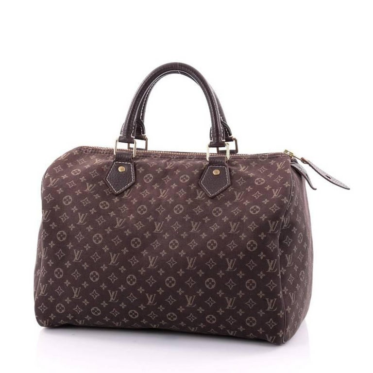 d57b6efcfbdb Louis Vuitton Speedy Handbag Mini Lin 30 In Good Condition For Sale In New  York