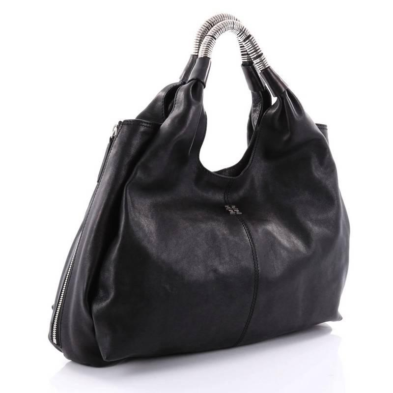 Givenchy Black Leather Medium Nightingale Tote Bag- Missing Strap KYR5wDUoW8
