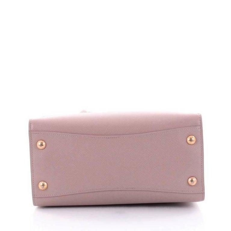 7bebf7a31b57 Women's Prada Bibliotheque Handbag Saffiano Leather with City Calfskin Small  For Sale