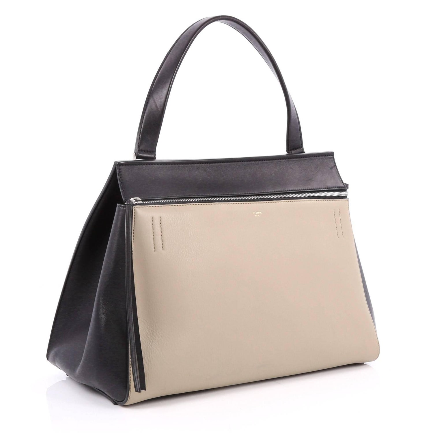 8cc8043acca5 Celine Edge Bag Leather Large is the quintessential