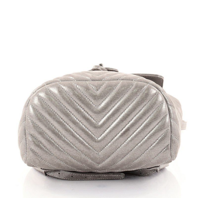 54c7c99aaa81 Chanel Urban Spirit Backpack Iridescent Chevron Calfskin Small at 1stdibs