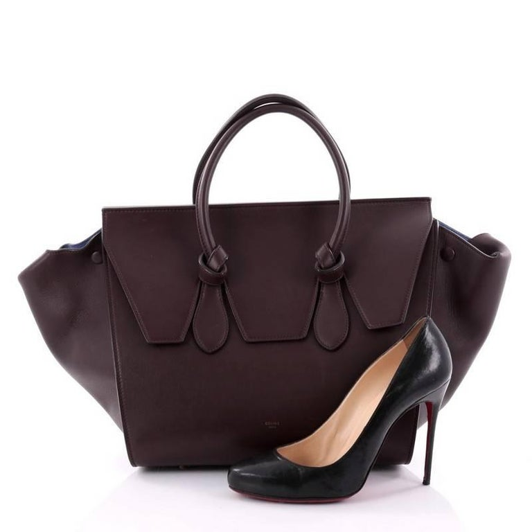 This Authentic Celine Tie Knot Tote Smooth Leather Small Is An Absolute Must Have For