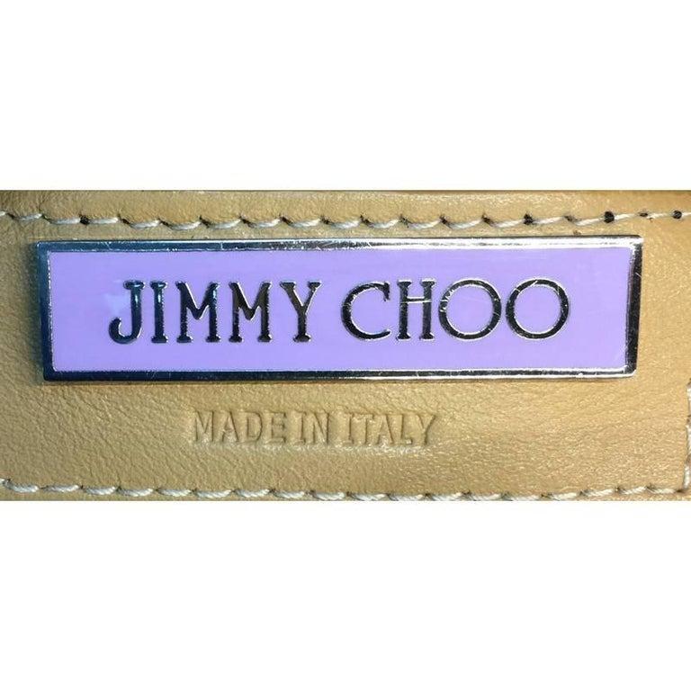 Jimmy Choo Ramona Hobo Leather 7