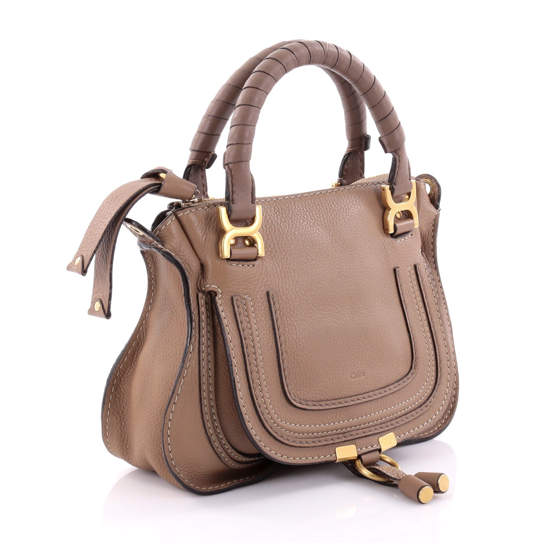 b27381e21e Chloe Marcie Satchel Leather Baby at 1stdibs