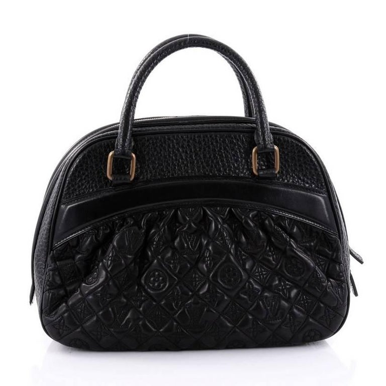 louis vuitton mizi vienna handbag monogram quilted lambskin at 1stdibs