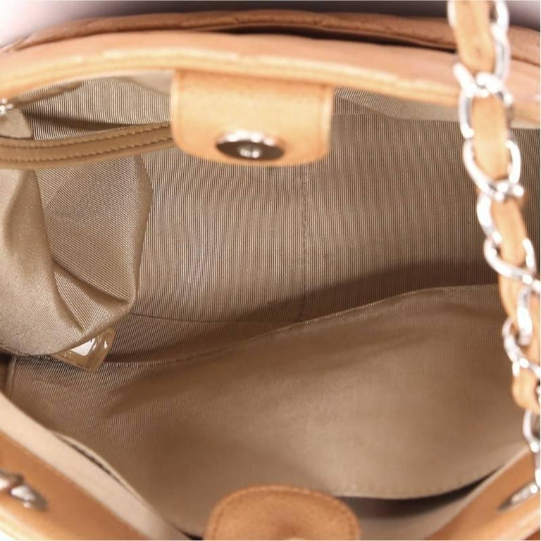 28d90d64e10 Chanel Petite Shopping Tote Quilted Caviar For Sale 3